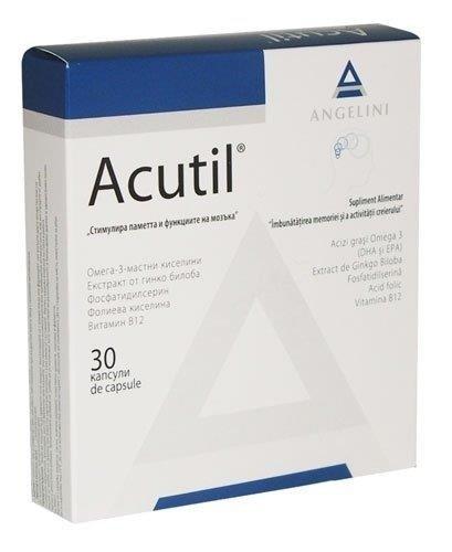 Акутил капсули (Acutil capsules)